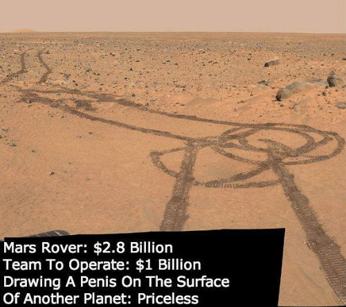 Dick on the Moon